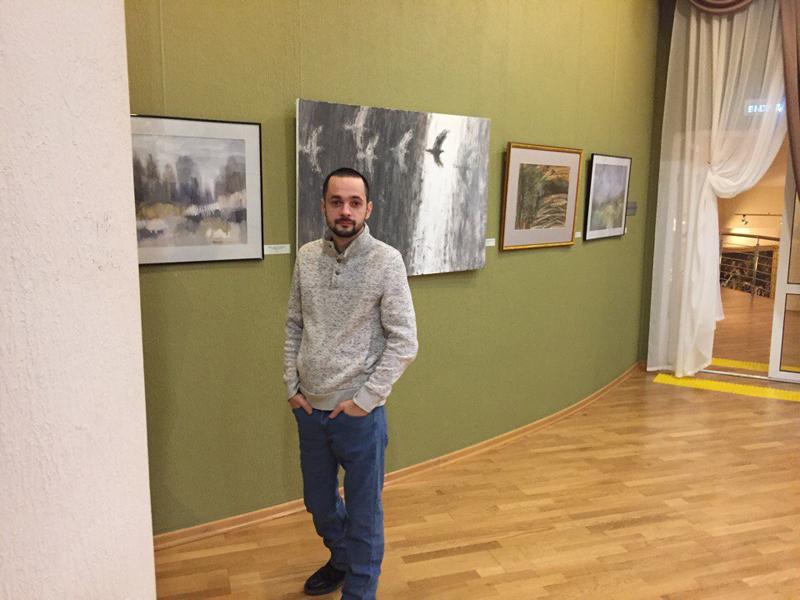 Выставка членов Союза художников России в Ханты-Мансийске