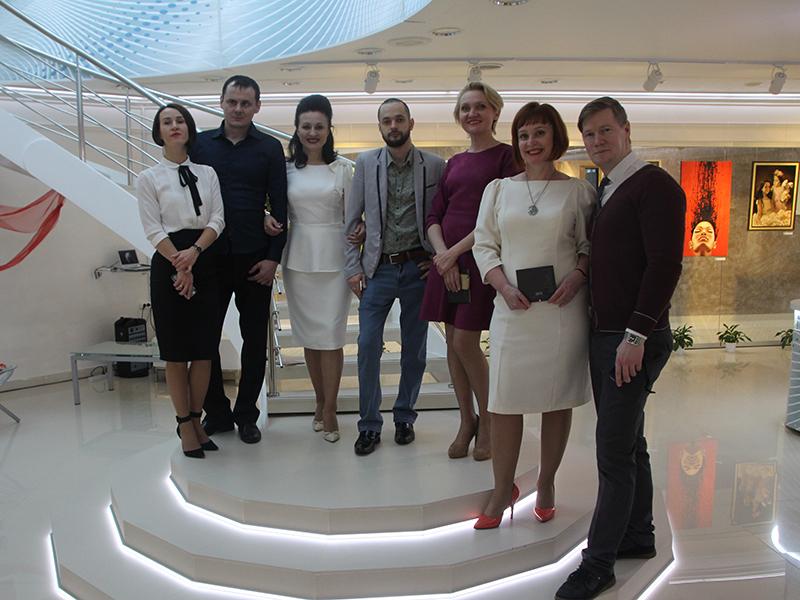 Выставка Оттепель в музее ООО Газпром трансгаз Югорск